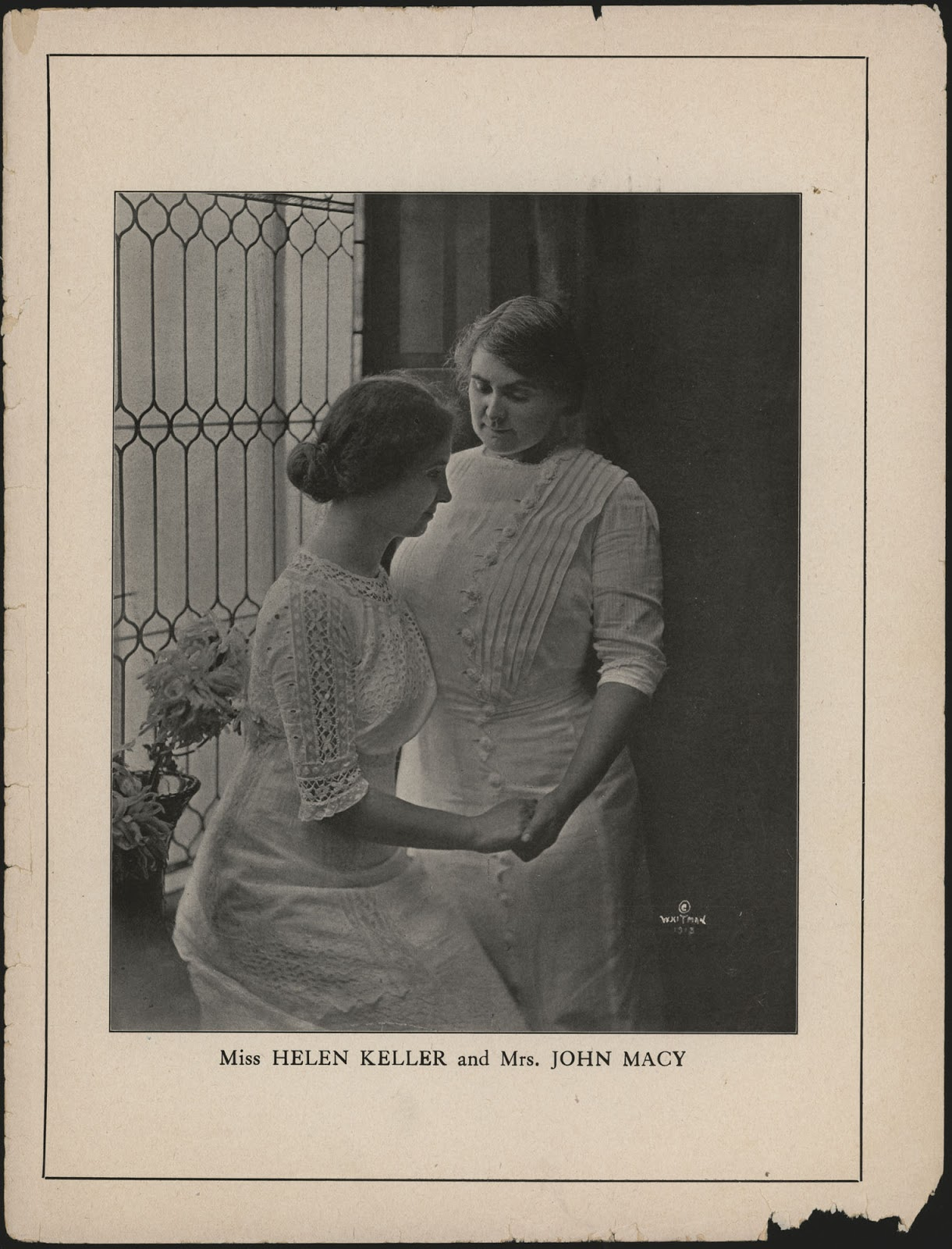 helen keller and the dunn triplets Deaf-blind american author, activist, and lecturer helen keller in 1904 deafblindness is the condition of little or no useful sight and little or no useful hearing.