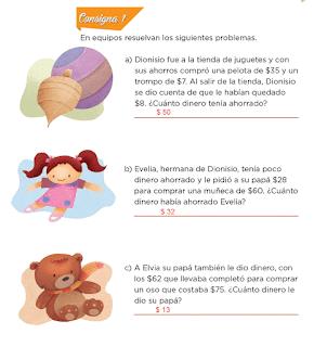 Respuestas Apoyo Primaria Desafíos Matemáticos 2do Grado Bloque 2 Lección 31 La tienda de juguetes
