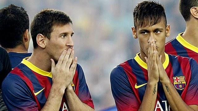 كلاسيكو برشلونة : ميسي وقادة الفريق يطالبون المدرب بابعاد نيمار