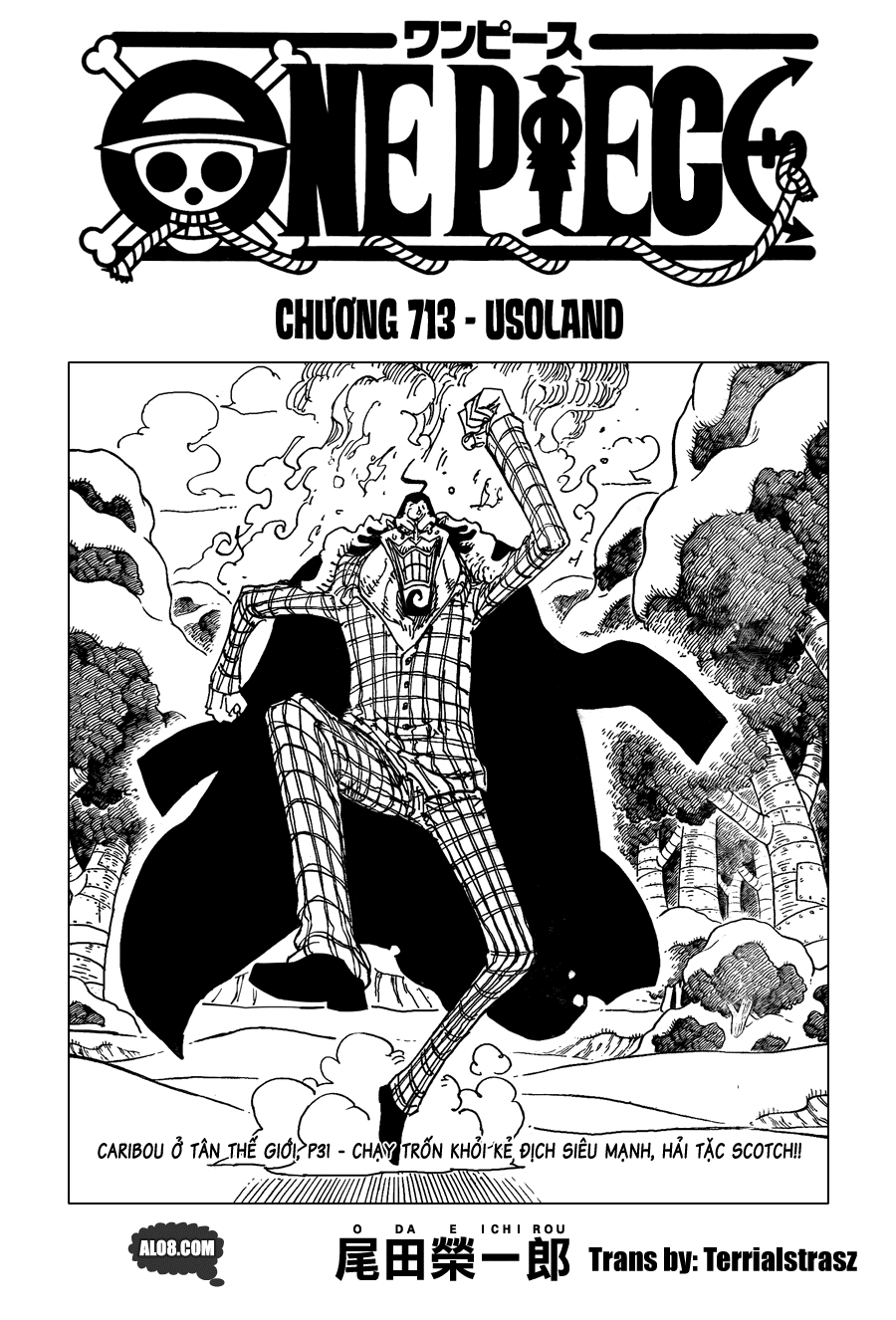 One Piece Chapter 713: Usoland 001