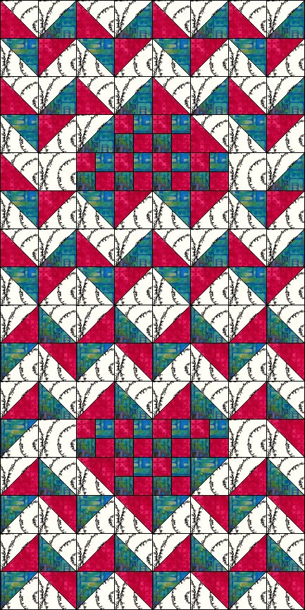 http://www.craftsy.com/pattern/quilting/home-decor/iheart-chevron-table-runner-quilt/132340