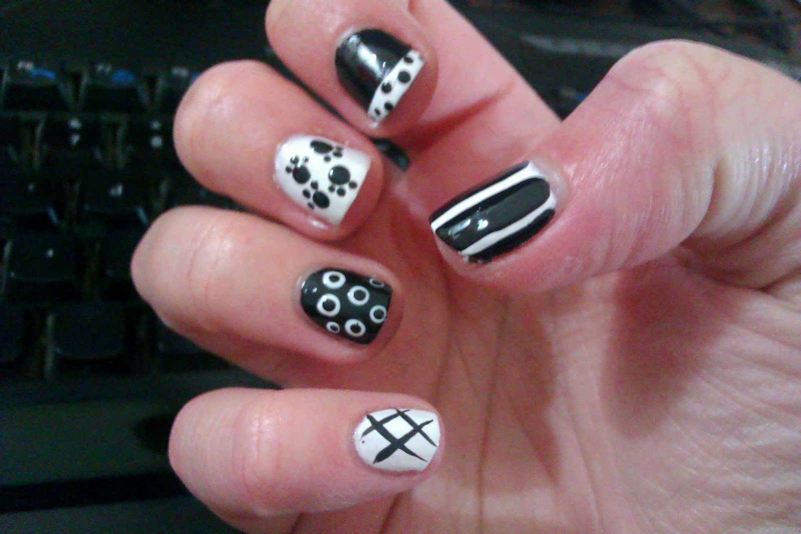 Exelent Nice Simple Nails Picture Image Collection - Nail Art Ideas ...