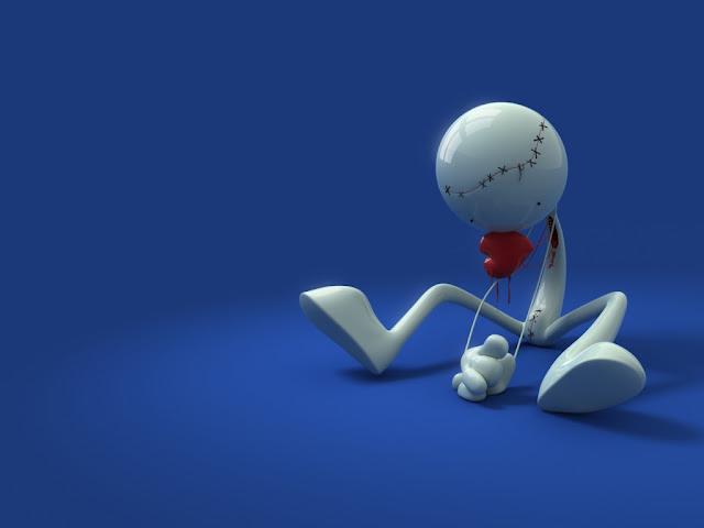 Tersiksa karena putus cinta