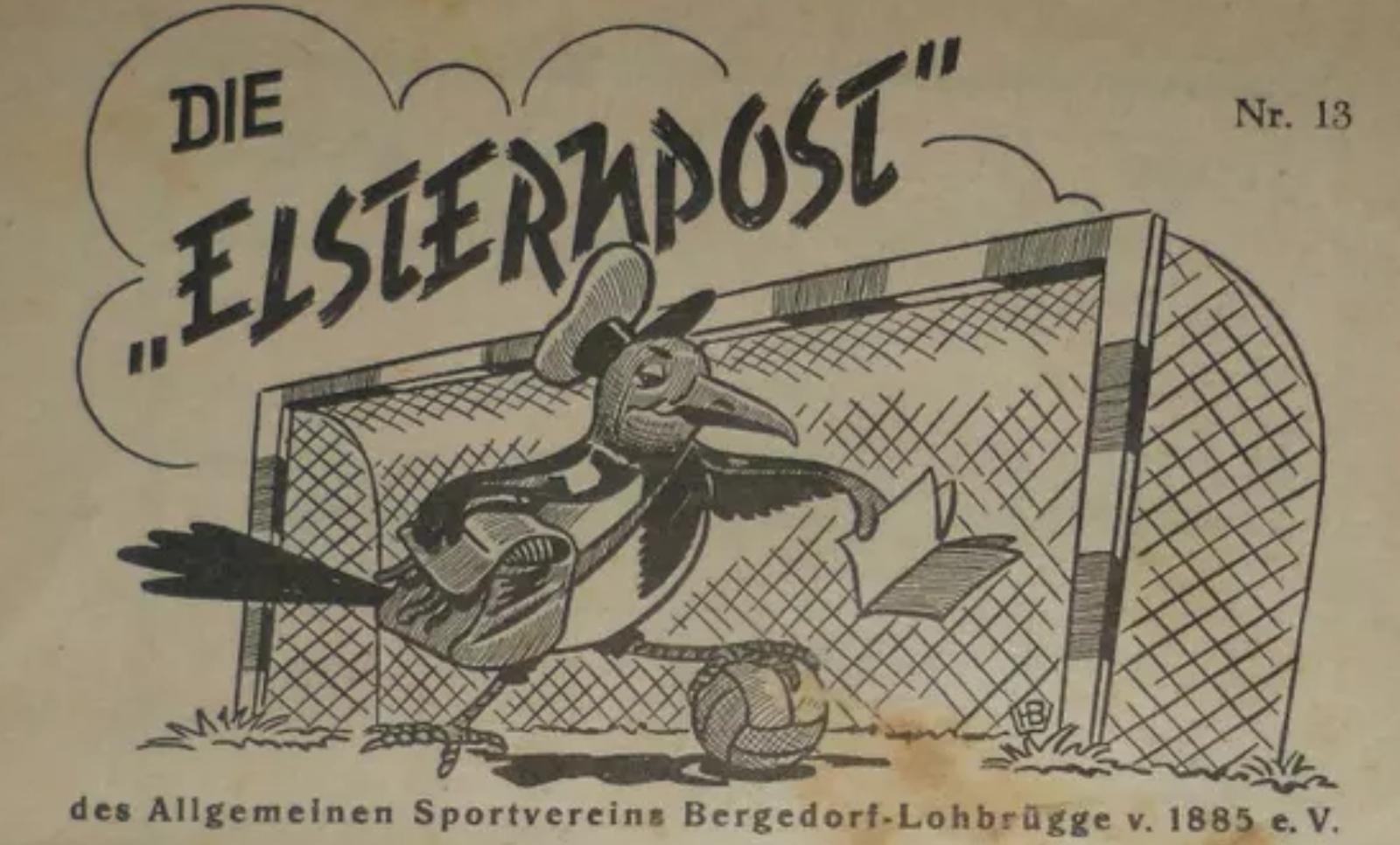 Elsternpost (Screenshot von Originalausgabe 1.3.1959)