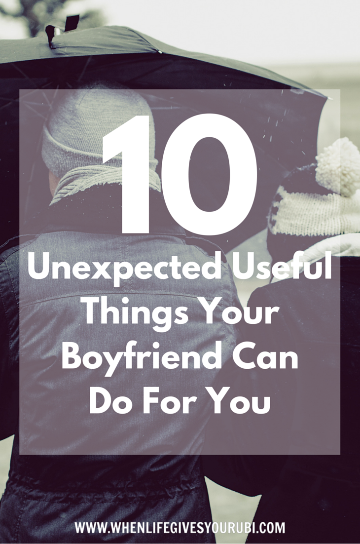 what to do to your boyfriend