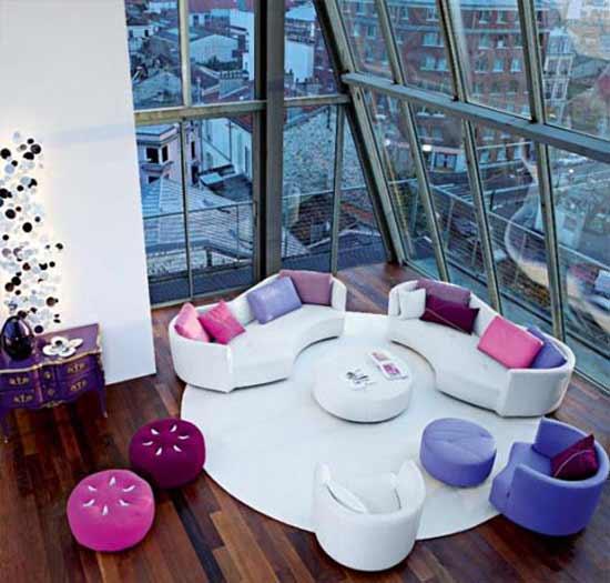 Juegos De Baño En Tela Modernos: Jardín: Juegos de muebles de sala modernos