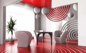 crvene nijanse u uređenju dnevnog boravka