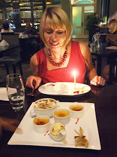 Dessert Sampler birthday treat at the Coriander Leaf, Clarke Quay