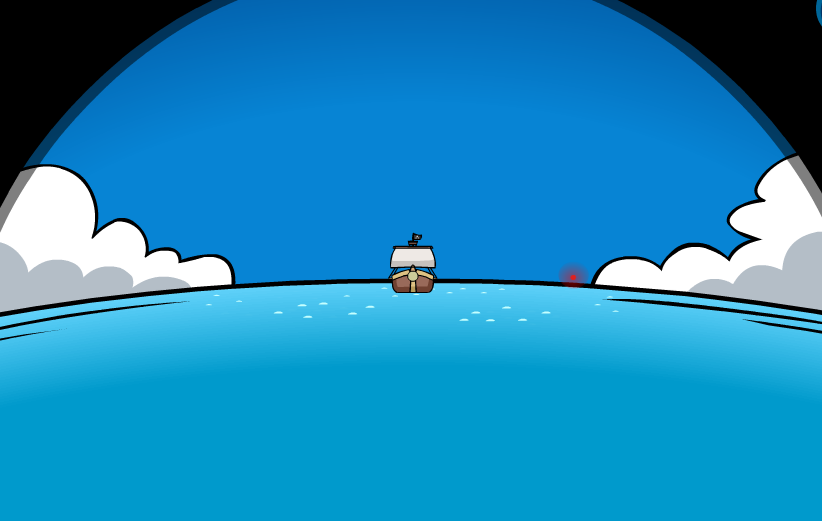 Club Penguin Rockhopper Migrator Telescope