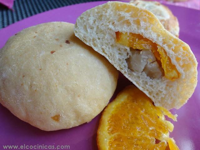 Pan de naranjas y castañas