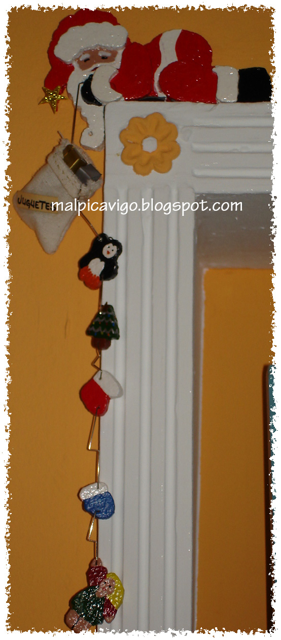 Malpicavigo adorno esquina puerta navidad for Adorno navidad puerta entrada