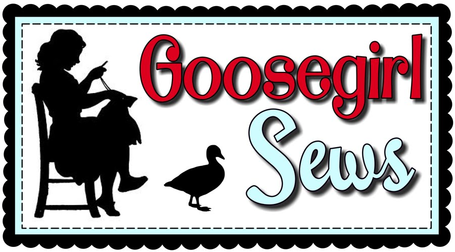 Goosegirl sews