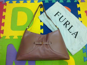 Furla Purple Leather Handbag(SOLD)
