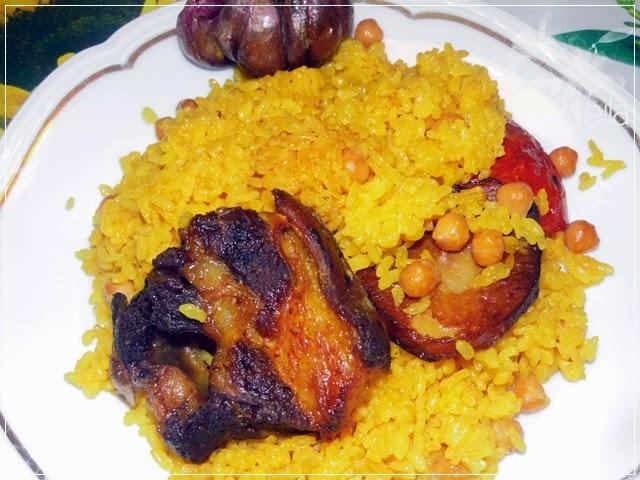 La Nueva Cocina de Leila: Arroz al horno halal