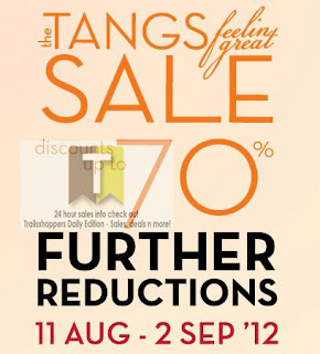 The TANGS feeling great sale 2012
