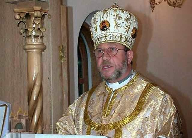 Dom Stefan Meniok, exarca (bispo) de rito greco-católico de Donetsk