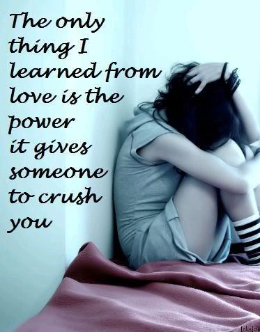 a sad love essay