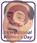 Berlusconi on International Women's Day