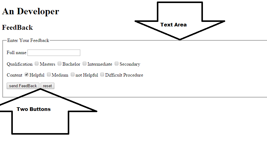 How to make a form in html
