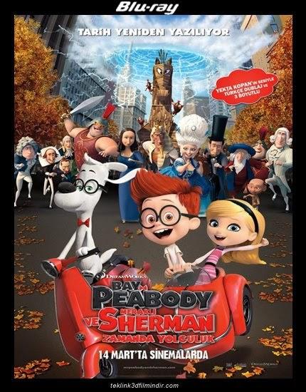 Bay Peabody ve Meraklı Sherman: Zamanda Yolculuk (2014)