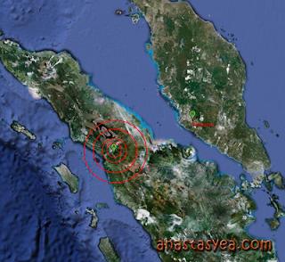 gempa bumi putrajaya Malaysia
