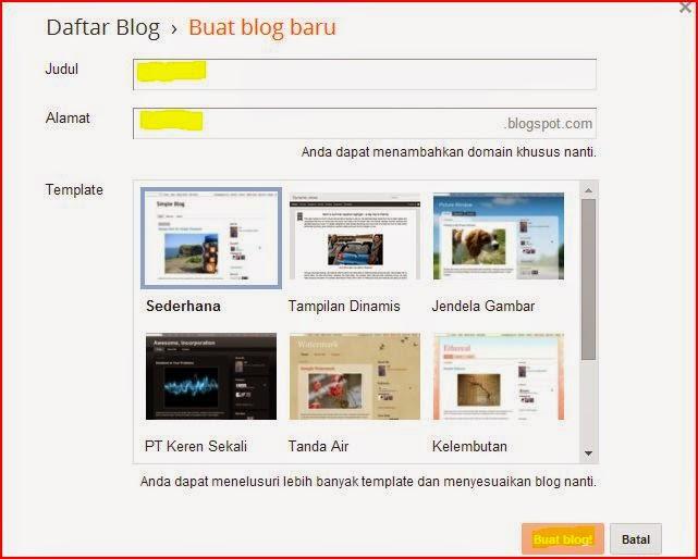Hayuk Ah Mulai Nge-Blog