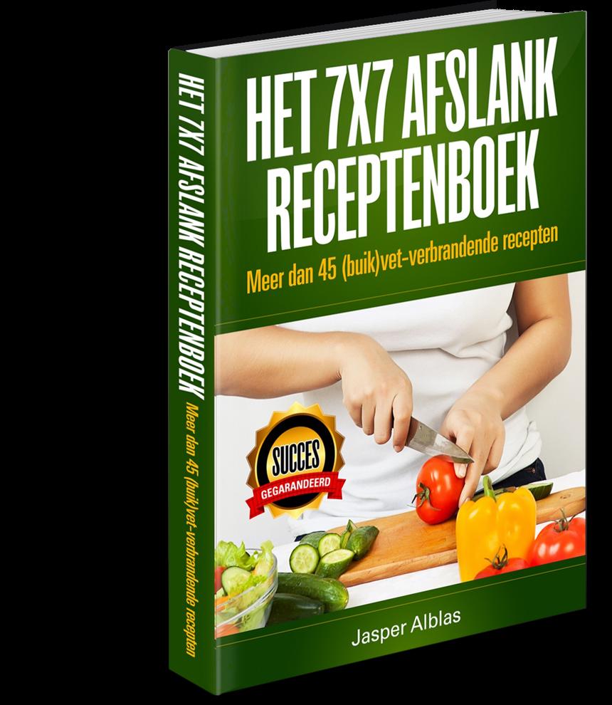 Het 7 x 7 Afslank Receptenboek
