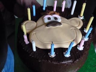 Whoopidooings: Monkey cake :)