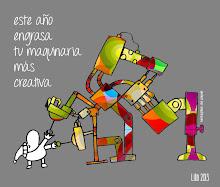 Máquina creativa para el 2013. Regalo de nuestro amigo José Manuel