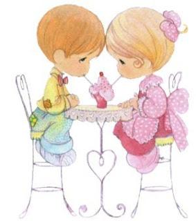 Compartiendo el amor  preciosos momentos enamorados