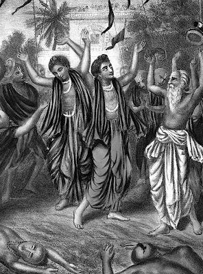 Divine Sankirtan program of Chaitany Mahaprabhu and Kripaluji Maharaj