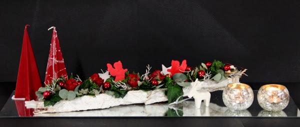 Bloemschikken Advent & Kerst - 7. Spiegelstuk