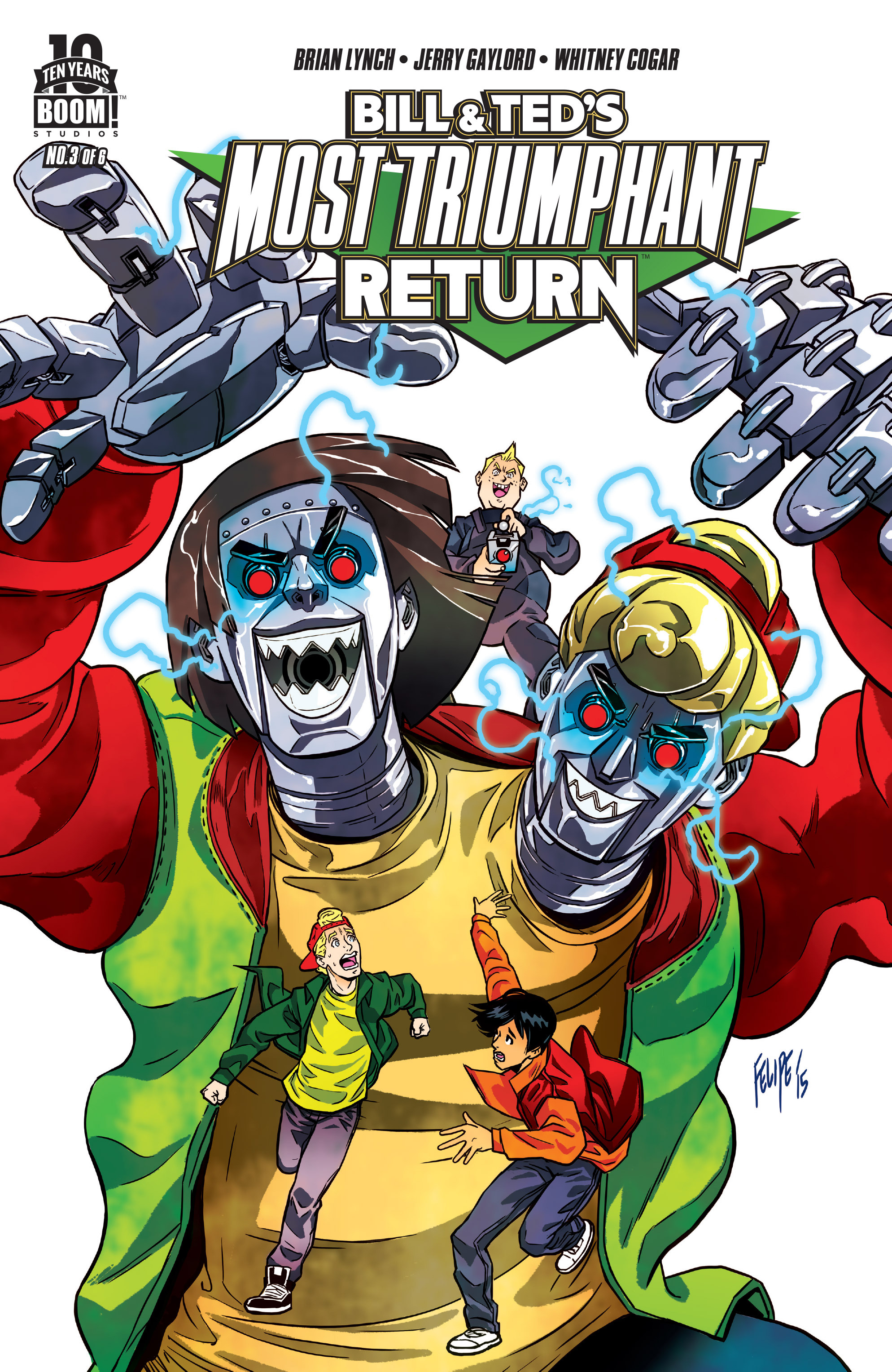 Read online Bill & Ted's Most Triumphant Return comic -  Issue #3 - 1