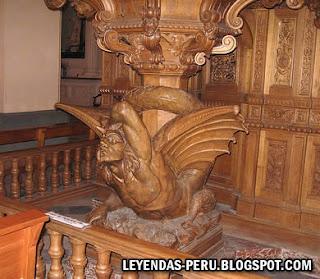 Diablo de la Catedral de Arequipa