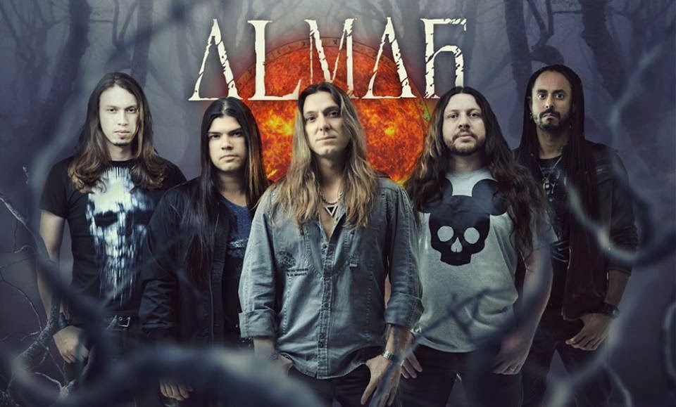 Almah no Road to Metal!