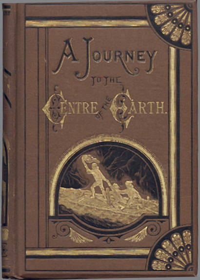 jules verne journey to the center of the earth book cover