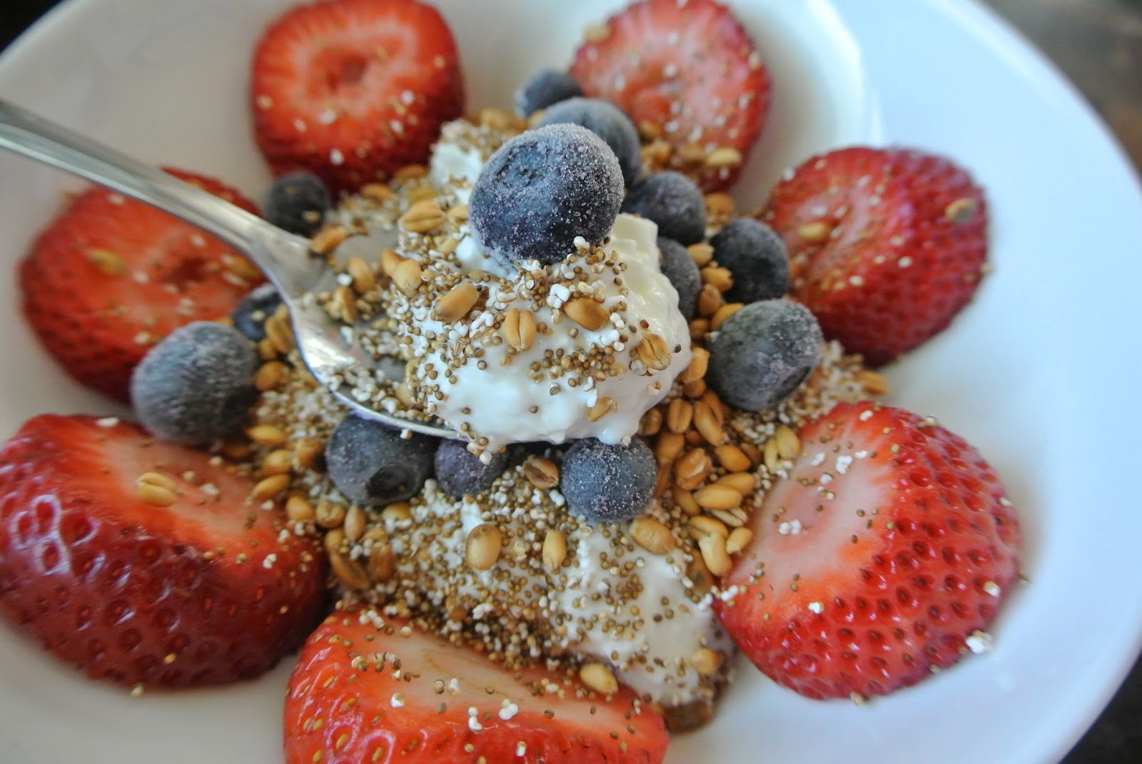 Popped Amaranth And Toasted Wheat Berry Fool Recipes — Dishmaps