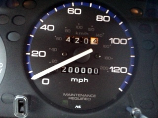200,000 mile Honda Civic CX - Subcompact Culture