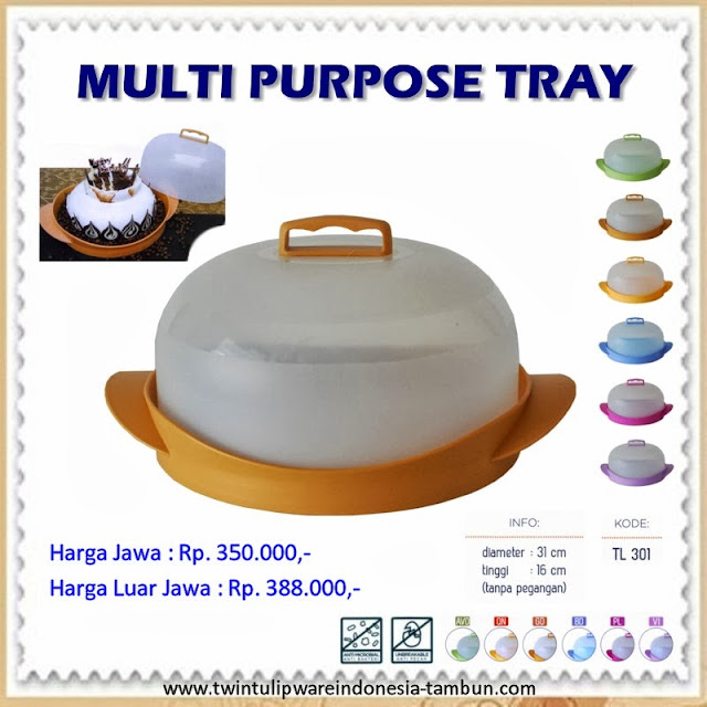 Multi Purpose Tray | MPT Tulipware 2013