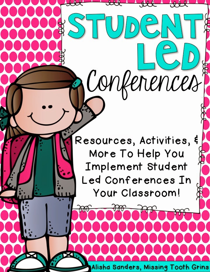 http://www.teacherspayteachers.com/Product/Student-Led-Conferences-1517424