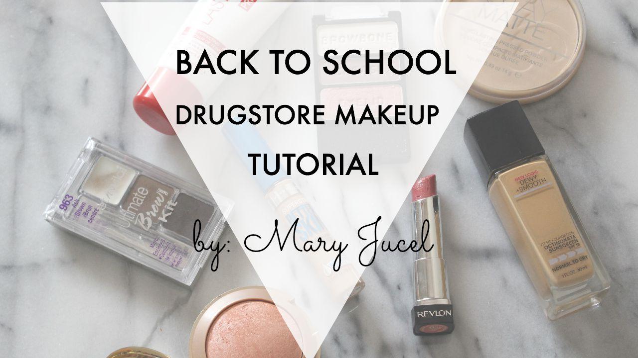 Mary jucel back to school makeup tutorial youtube video back to school makeup tutorial youtube video baditri Gallery