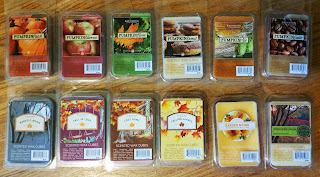 Sonoma Fall 2015 Scented Wax Melt Reviews