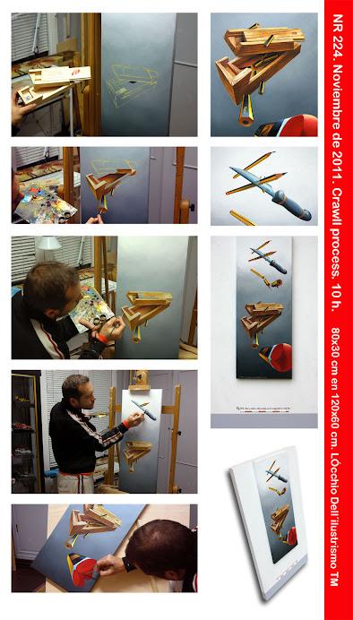 Nr 224 plumier y lápices cortados.