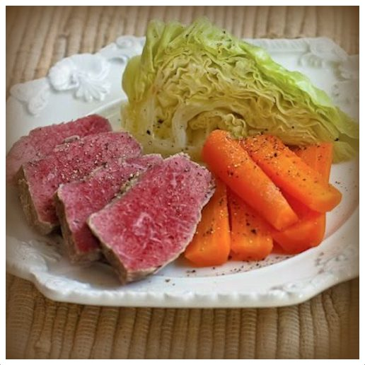 ... posted about Corned Beef Und Cabbage. Hmm. I'm so original