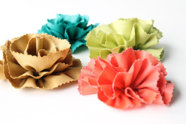 fabric flowers by allisa jacobs