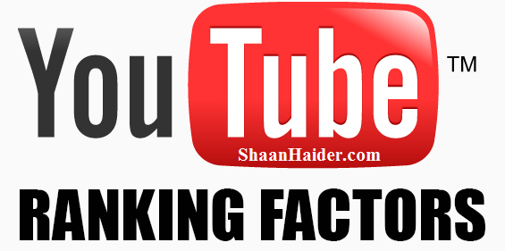 YouTube Rankings Factors