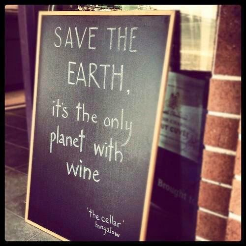 wine on earth