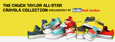 Chuck Taylor All-Star Crayola Logo