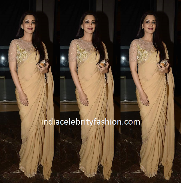 Sonali Bendre in Abu Jani Sandeep Khosla Saree
