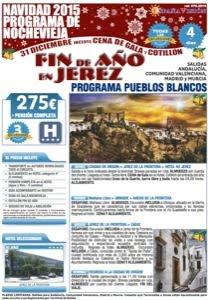 Pueblos Blancos Nochevieja 2015